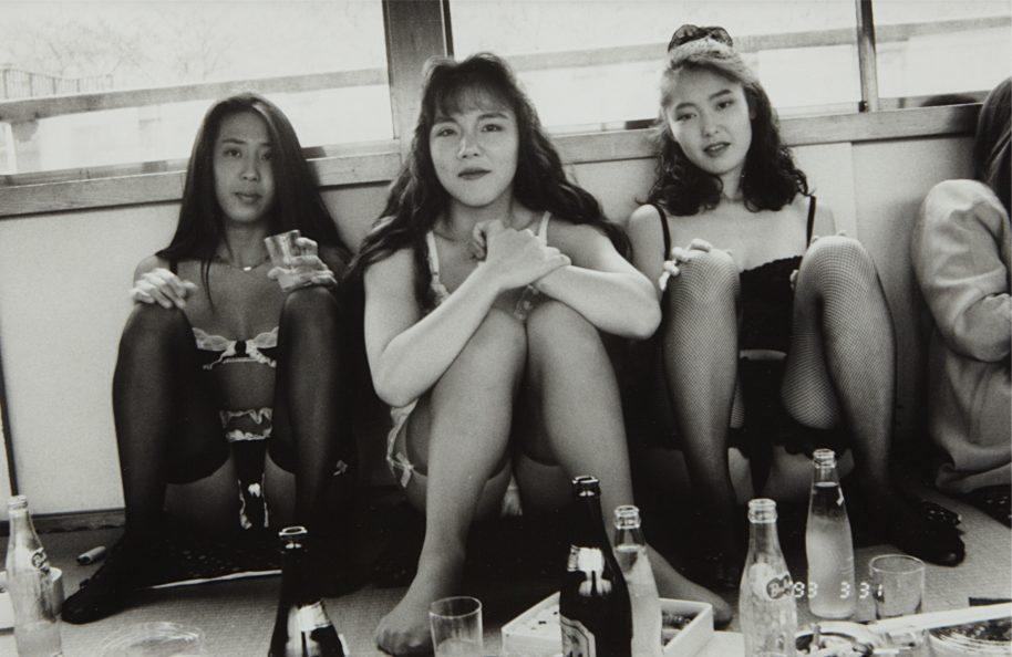"Nobuyoshi Araki, Untitled, from ""101 Works for Robert Frank (Private Diary),"" 1993. Courtesy The Walther Collection"
