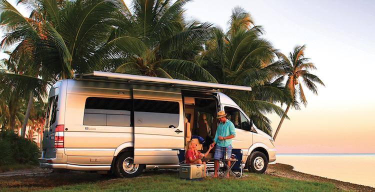See Airstream Tommy Bahama Special Edition Interstate Touring Coach