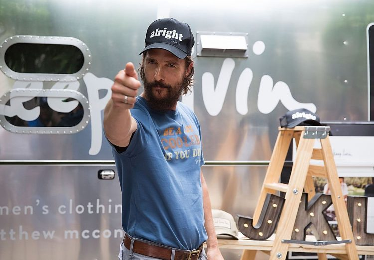 All Right All Right All Right McConaughey