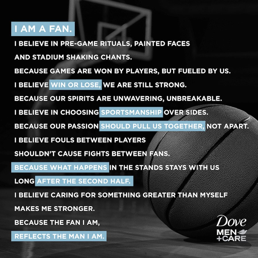 The fan manifesto supported by Redick and several other star athletes such as Ray Allen, Al Horford and Alonzo Mourning.
