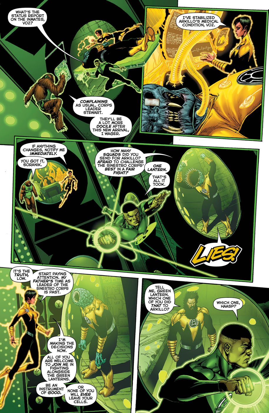 Hal Jordan and the Green Lantern Corps 17 page 2