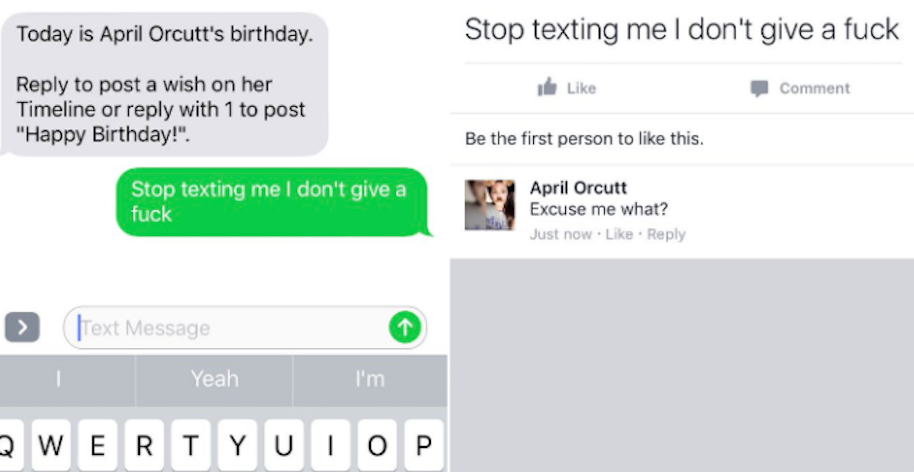 Dude Accidentally Sends Friend Messed Up Birthday Wishes On Facebook