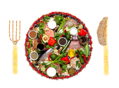 How to gain weight - balanced quality meal
