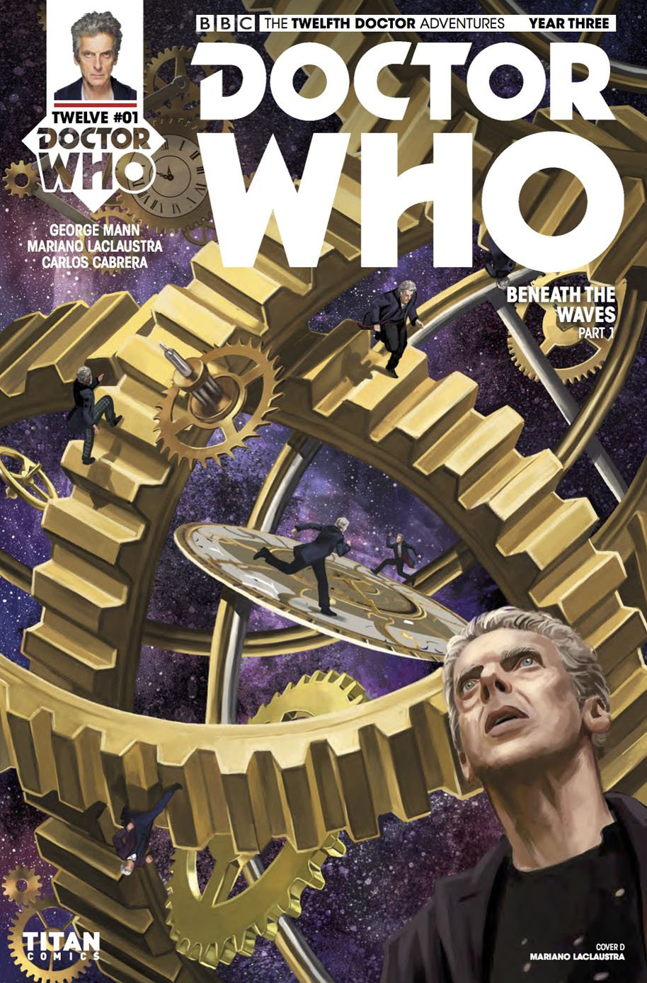 Doctor Who Twelfth Doctor Year Three 1 Cover D