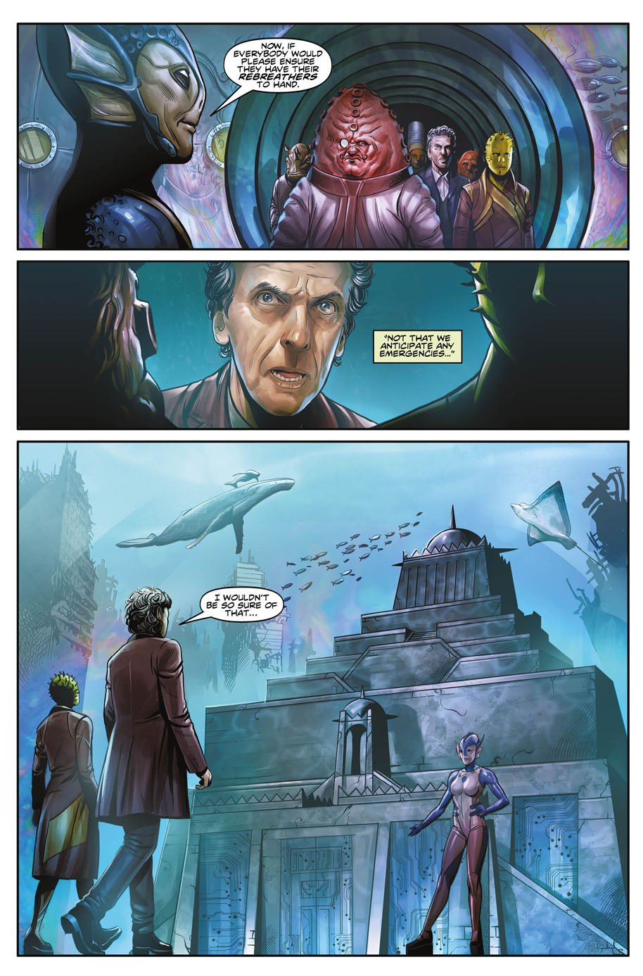 Doctor Who Twelfth Doctor Year Three 1 Page 2