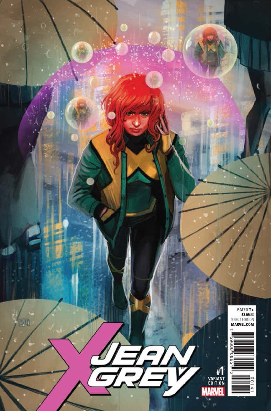 Jean Grey 1 variant cover