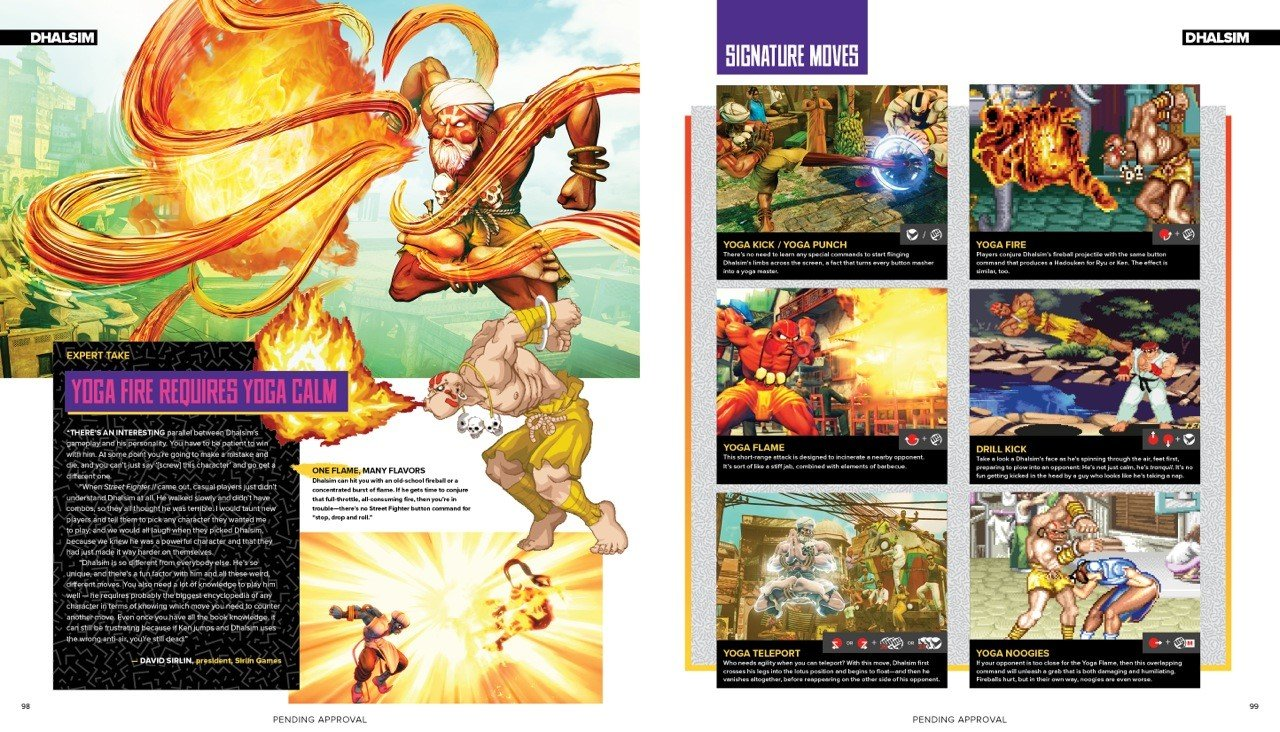 Undisbuted Street Fighter sample page 3