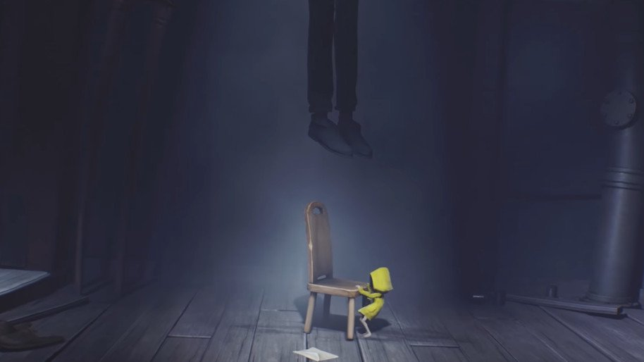 Little-Nightmares-Ending-Explained-Hanging-Man-Father