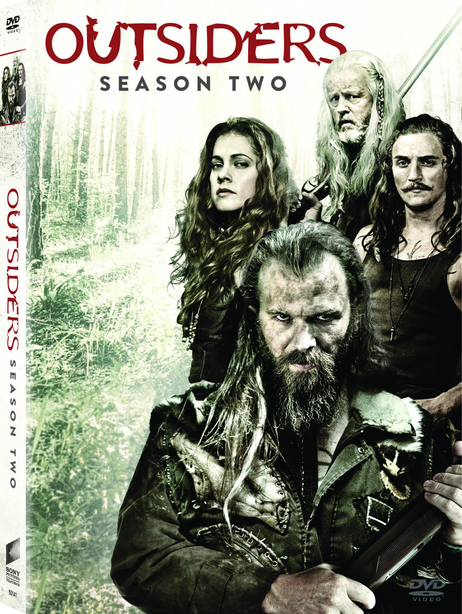 Outsiders season 2 DVD Cover