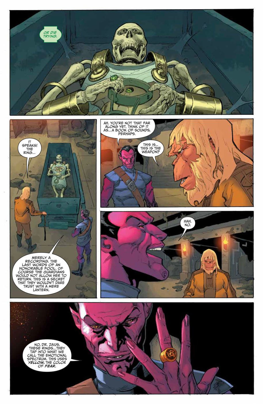 Planet of the Apes Green Lantern 4 page 6