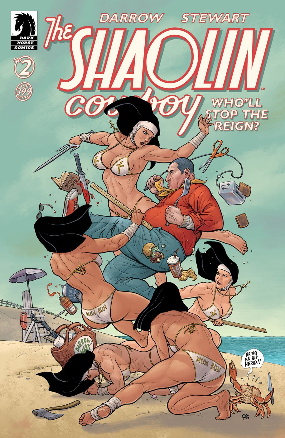 The Shaolin Cowboy 2 cover variant