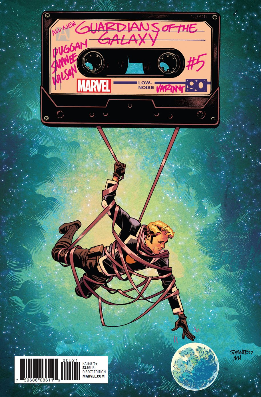 All-New Guardians of the Galaxy 5 variant cover