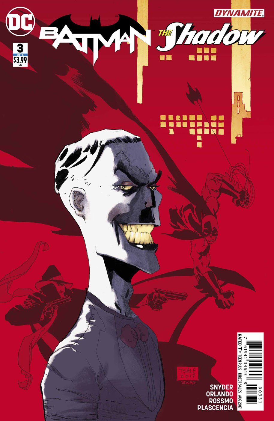 Batman The Shadow 3 Tim Sale variant cover