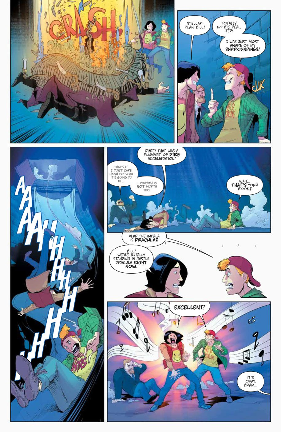Bill & Ted Save the Universe 1 page 3