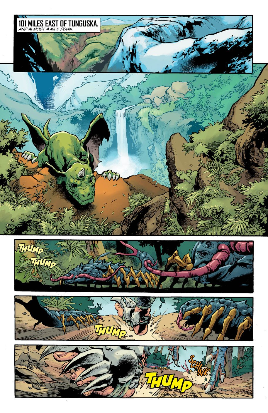 Justice League of America 8 page 1