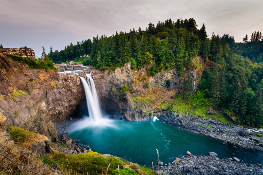 Photo: Snoqualmie Falls, Washington.