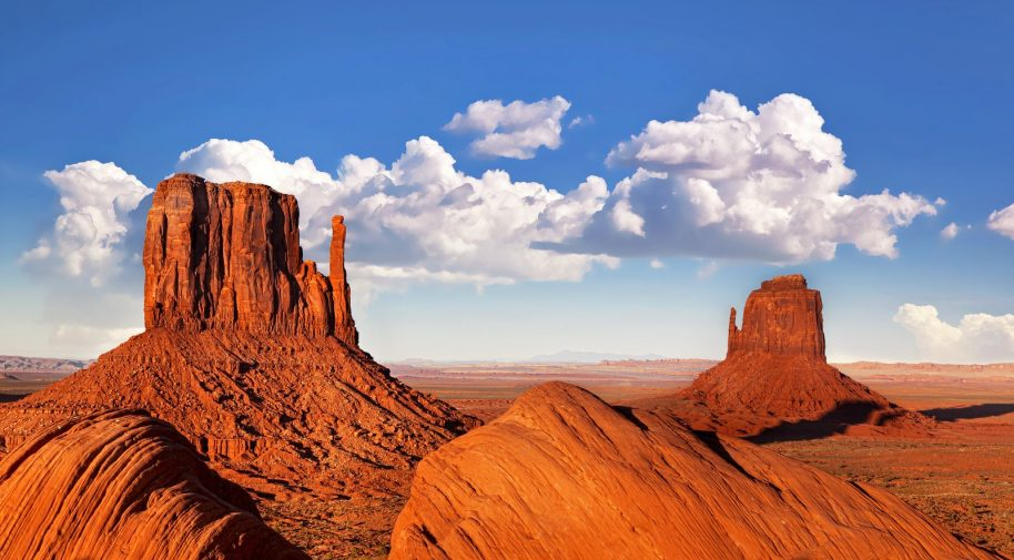 Photo: Monument Valley, Utah.