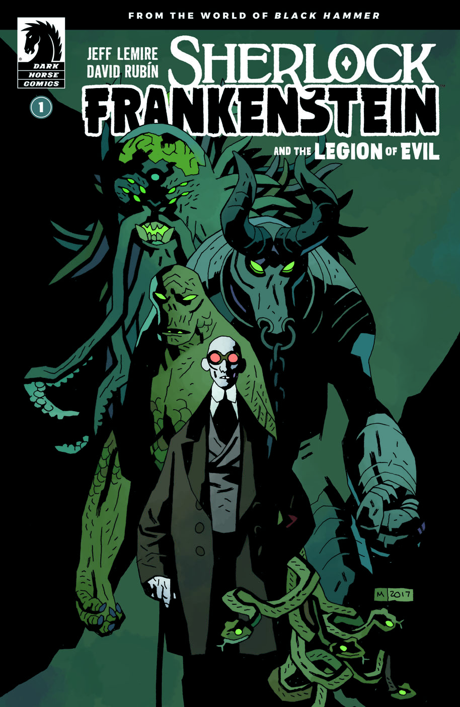 Sherlock Frankenstein and the Legion of Evil 1 Mike Mignola cover