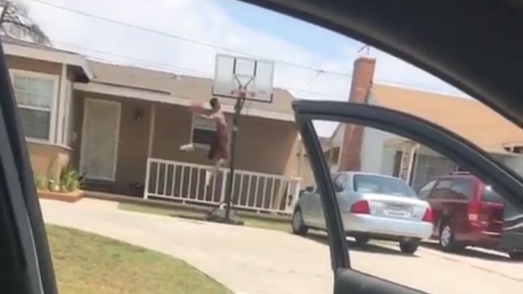 drive-by dunks
