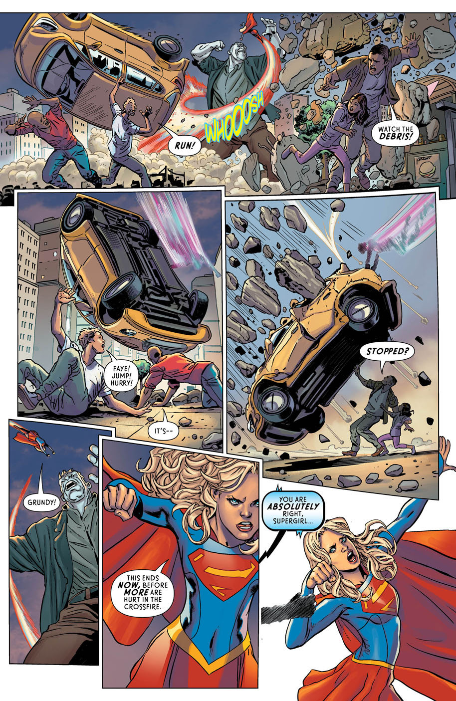 Supergirl Annual 1 page 4