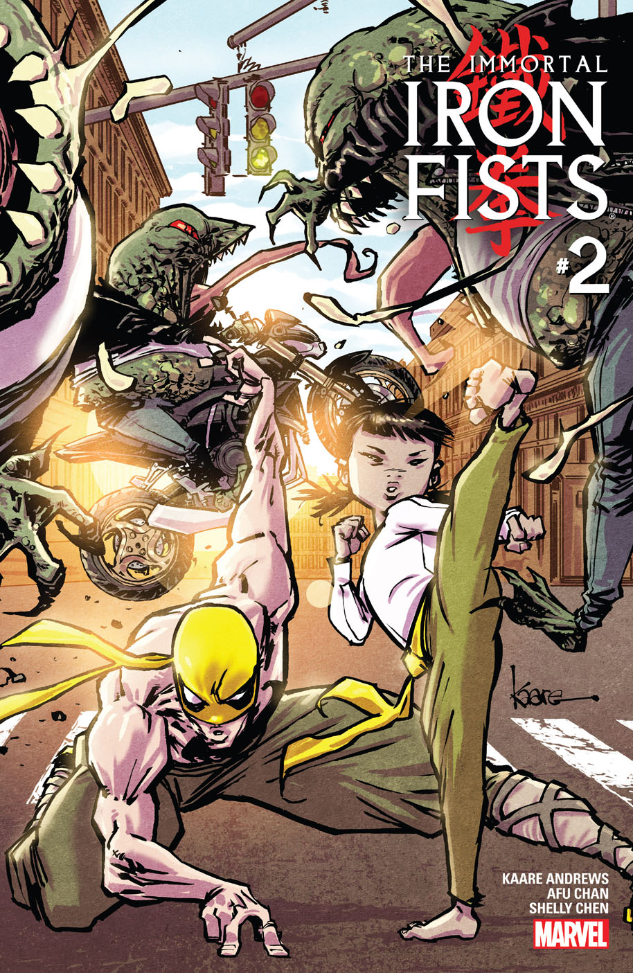 The Immortal Iron Fists 2 cover