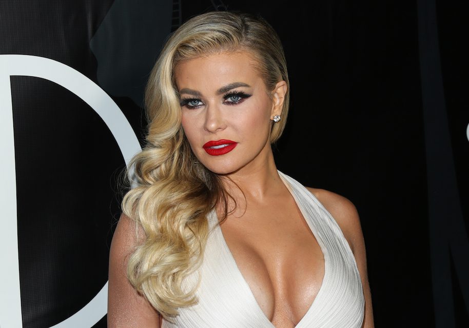 Carmen Electra Busted Out Of Her Dress