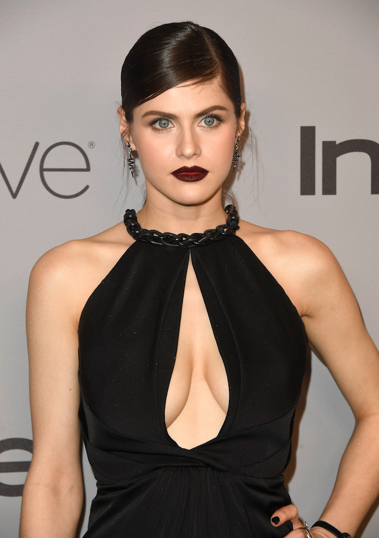 Alexandra Daddario And Her 2 Globes Had Quite The Party