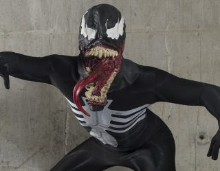 Our First Glimpse At Tom Hardy's 'Venom' Costume Doesn't Disappoint