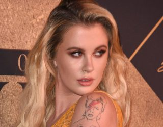 Ireland Baldwin Celebrates 420 In Lingerie