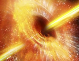 Black Hole That Could Swallow The Sun In Two Days Growing At Record Pace