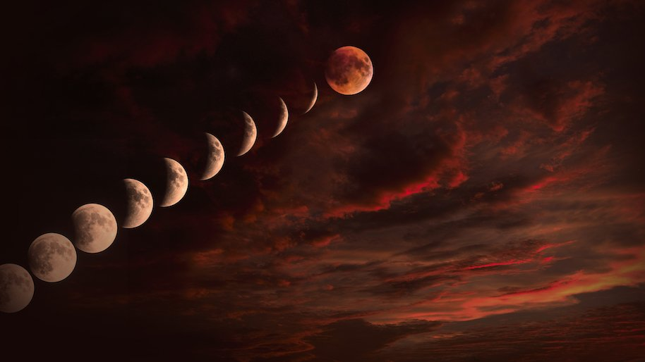 blood moon, end of world predictions