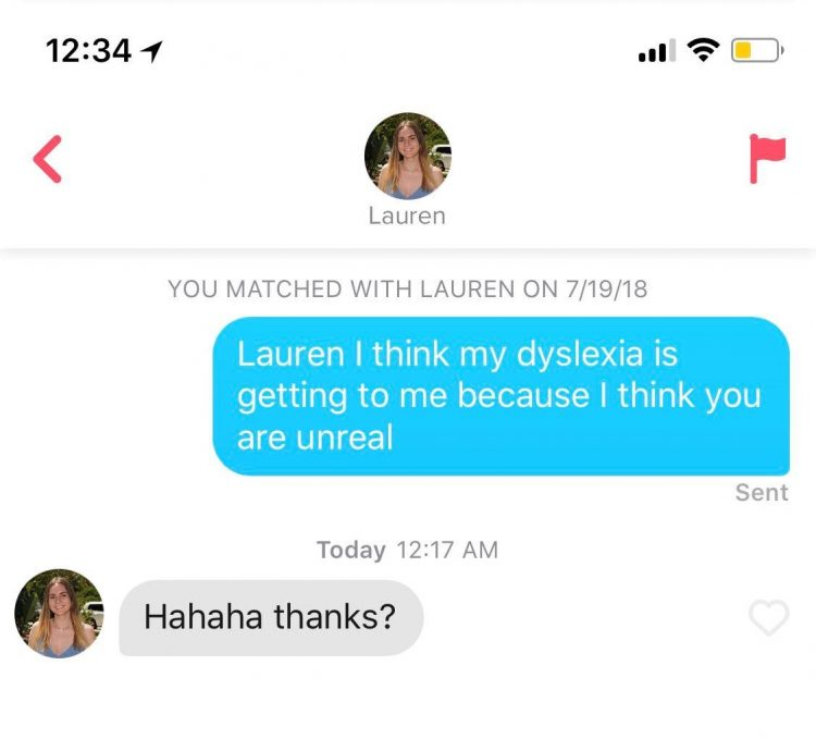 Great Tinder openers