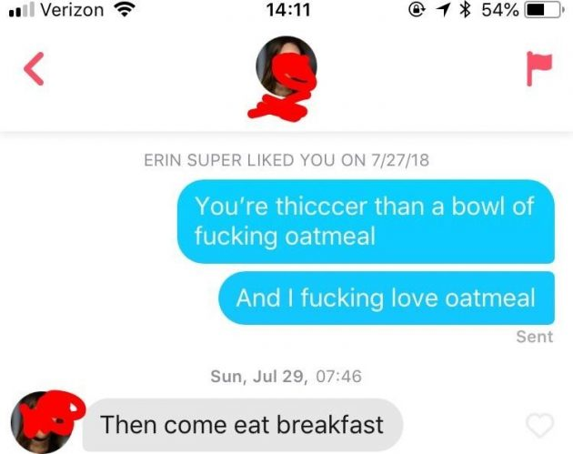 Funny Tinder chats