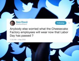 This Week's 20 Funniest Tweets 9-7-18
