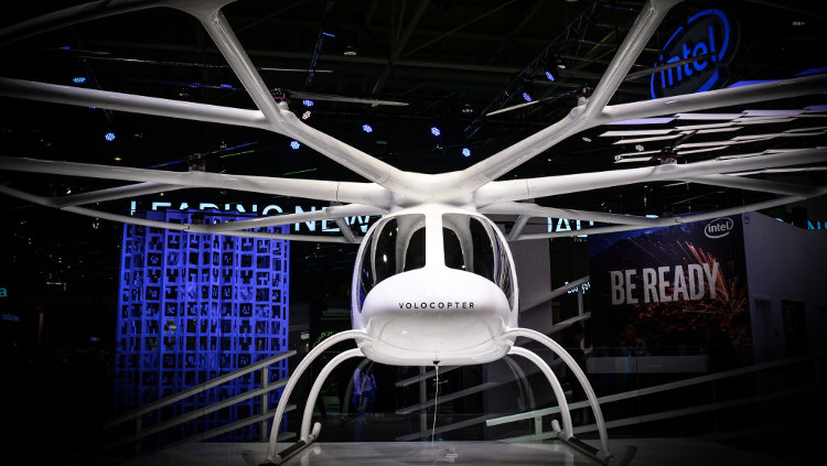 Volocopter hover taxi