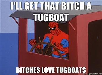 1 - Spidey and Tugboats