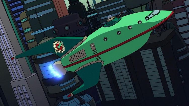 10. Planet Express Ship (Futurama)