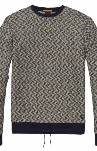 Zig Zag Sweat Shirt by Scotch & Soda