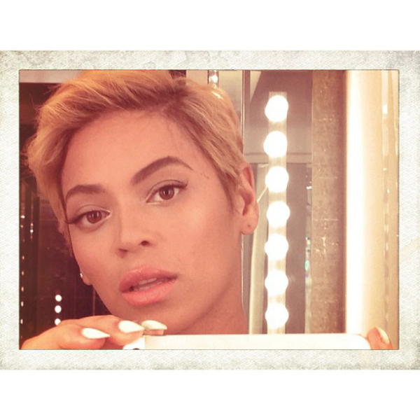 Beyonce has posted a picture of herself on Instagram