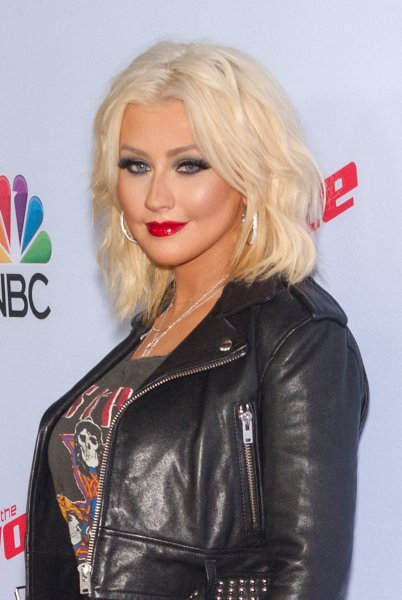 NBC's 'The Voice' Season 8 at Pacific Design Center - Red Carpet Arrivals Featuring: Christina Aguilera Where: West Hollywood, California, United States When: 23 Apr 2015 Credit: Daniel Tanner/WENN.com