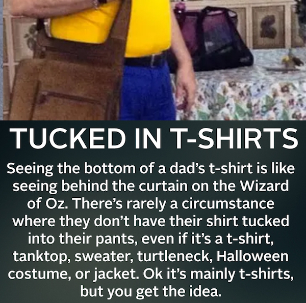 Tucked In T-Shirts