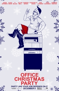 'Office Christmas Party' Poster 2