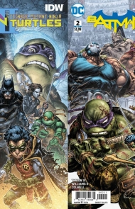 Batman / Teenage Mutant Ninja Turtles II #1 & 2