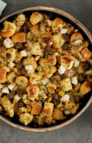 Sausage, Pear and Chestnut Stuffing