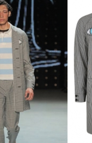 Black & White Gingham Eyes by Topman Design
