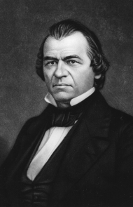 Andrew Johnson was so blitzed he couldn't get through his inauguration