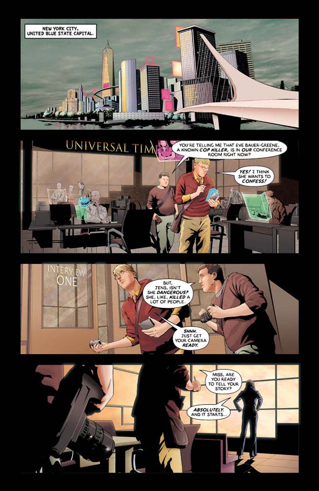 Insurgent #3 Preview 1