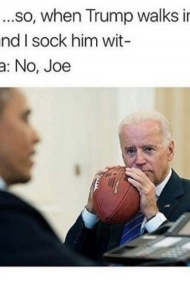 Joe Needs Need To Hit Someone