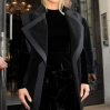 Kim Kardashian sports a new blonde hair style, as she leaves with husband Kanye West to go to the Balmain Fashion Show in Paris Featuring: Kim Kardashian, Kanye West Where: Paris, France When: 05 Mar 2015 Credit: WENN.com **Not available for publication in France**