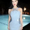Dita Von Teese at the Art Basel during the Pret A Porter party in Miami Featuring: Dita Von Teese Where: Miami, Florida, United States When: 07 Dec 2012 Credit: WENN.com **Not available for publication in France, Germany, Austria, Switzerland**